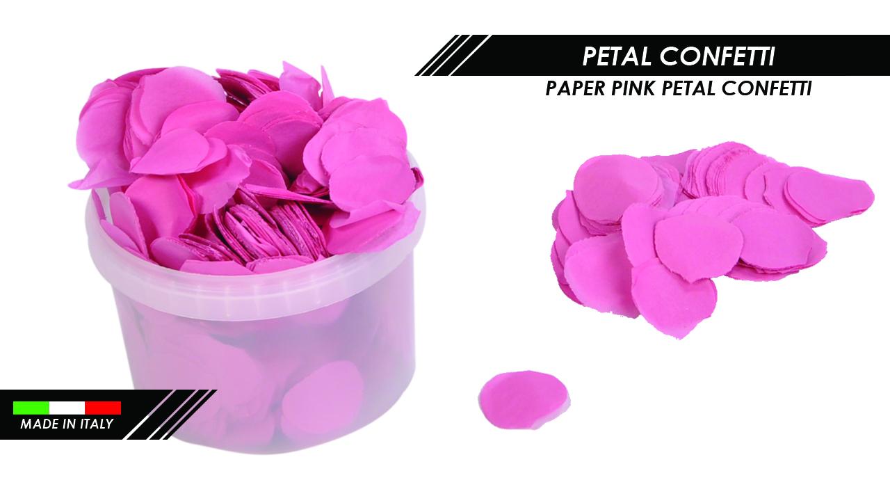 PAPER PINK PETAL CONFETTI