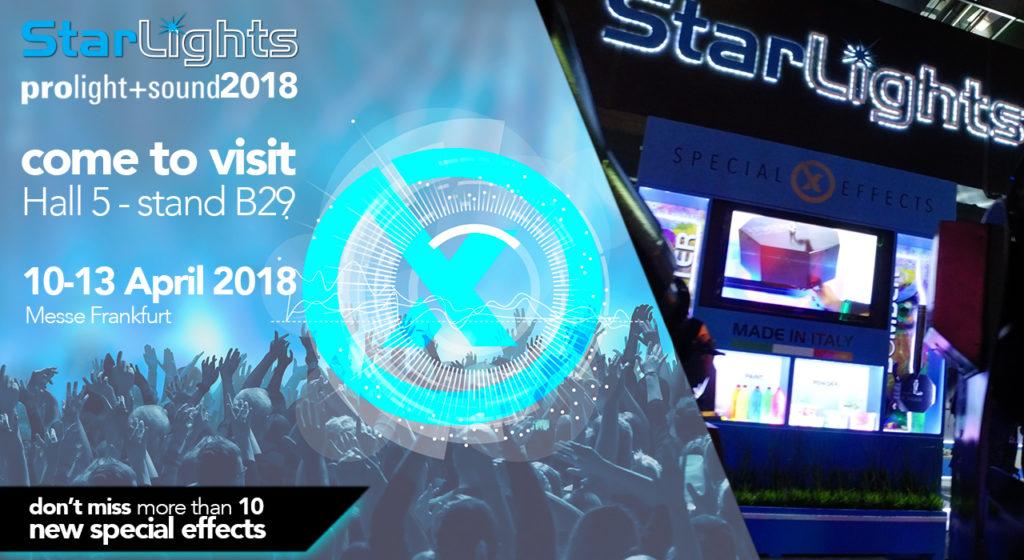 Vi aspettiamo al Prolight + Sound 2018